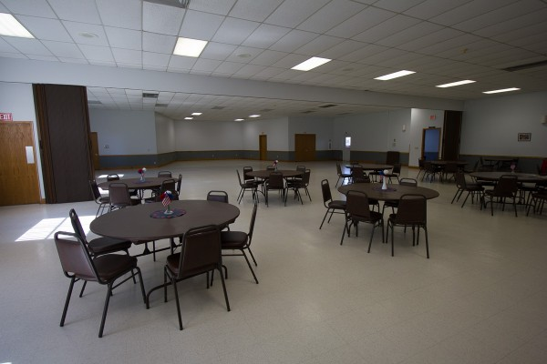 Photos of the Stewartville Civic Center