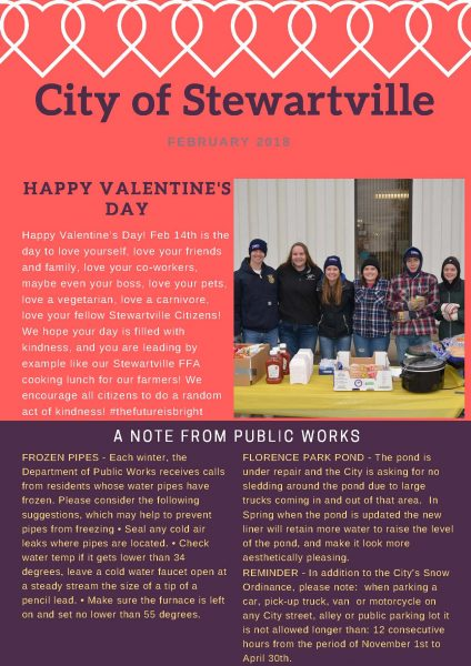 Feb 2018 Newsletter