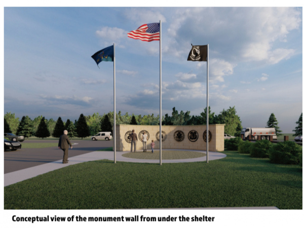 Photos of the Stewartville Veterans Park